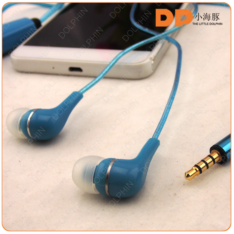 For iphone 6 earphones 3.5mm jacks earphones glowing earbuds funny light earphones
