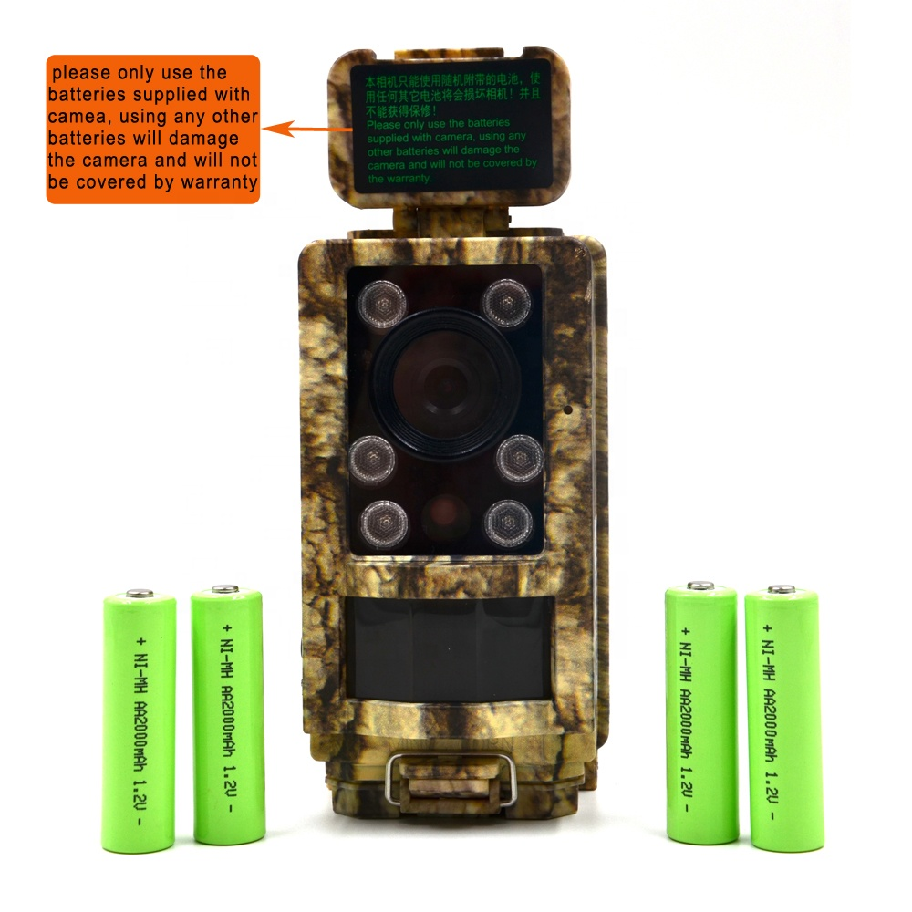 16MP Waterproof IP66 Small Night Vision Adjustable Hunting Trail Camera Infrared