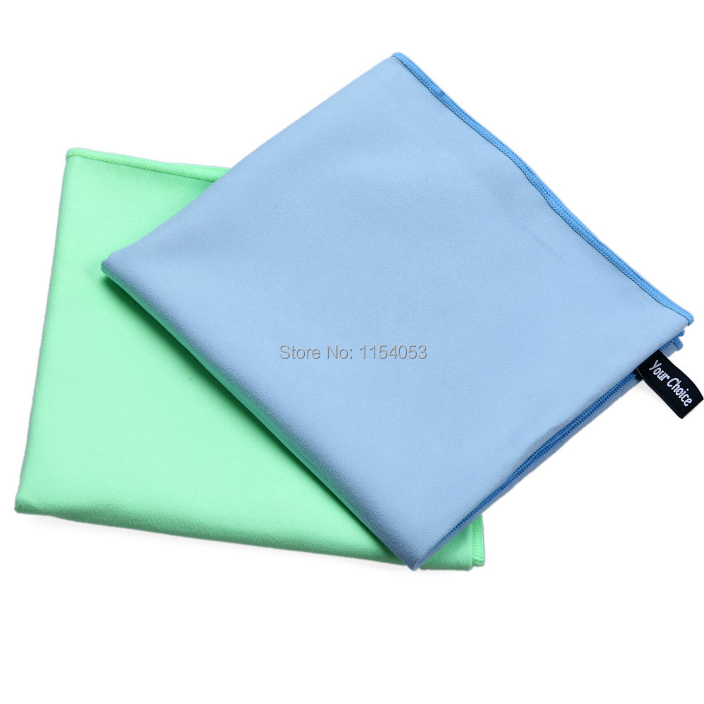 Sports Towel Sweat: (2 Packs 16 X 32 Inch(1Blue)+16 X 32 Inch(1Green) )100