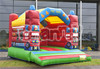 Fire Truck Inflatable Bouncer, Air Bouncer Inflatable Trampoline for Children