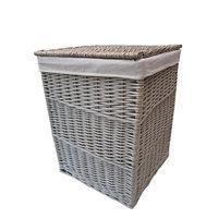 2017 handmade wholesale cheap wicker laundry basket