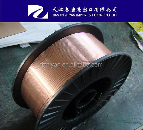 Copper coated CO2 welding wire for high quality
