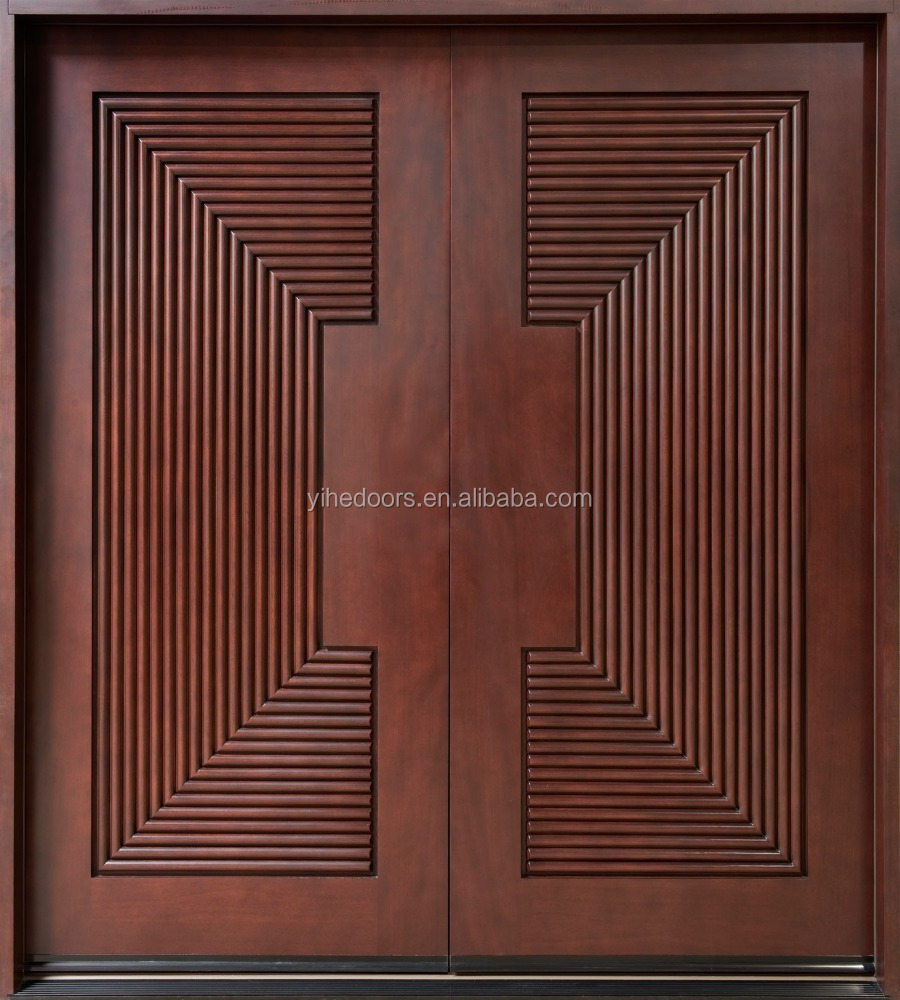 Mahogany Wood Interior Door Rosewood Wood Door Fun Light In Diyar