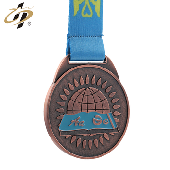 high quality Custom made antique make running medals metal