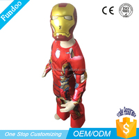 New Design Cosplay Cartoon Characters Kids Fancy Dress costumes, Iron man costume Robot Mascot costumes