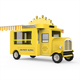 air stream style look cart/barbecue food truck/bbq concession trailer