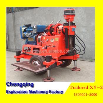 2014 super prix xy 2 trailor mont puits d 39 eau machine de for Prix forage eau potable