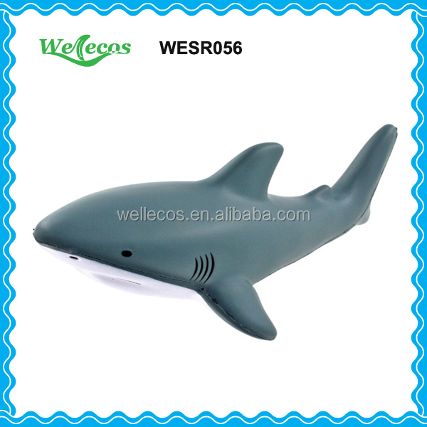 For Kids Stress Balls New Design Stress Ball,Shark Shaped PU Balls
