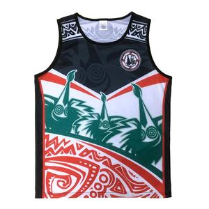 100% polyester sublimation gym singlet