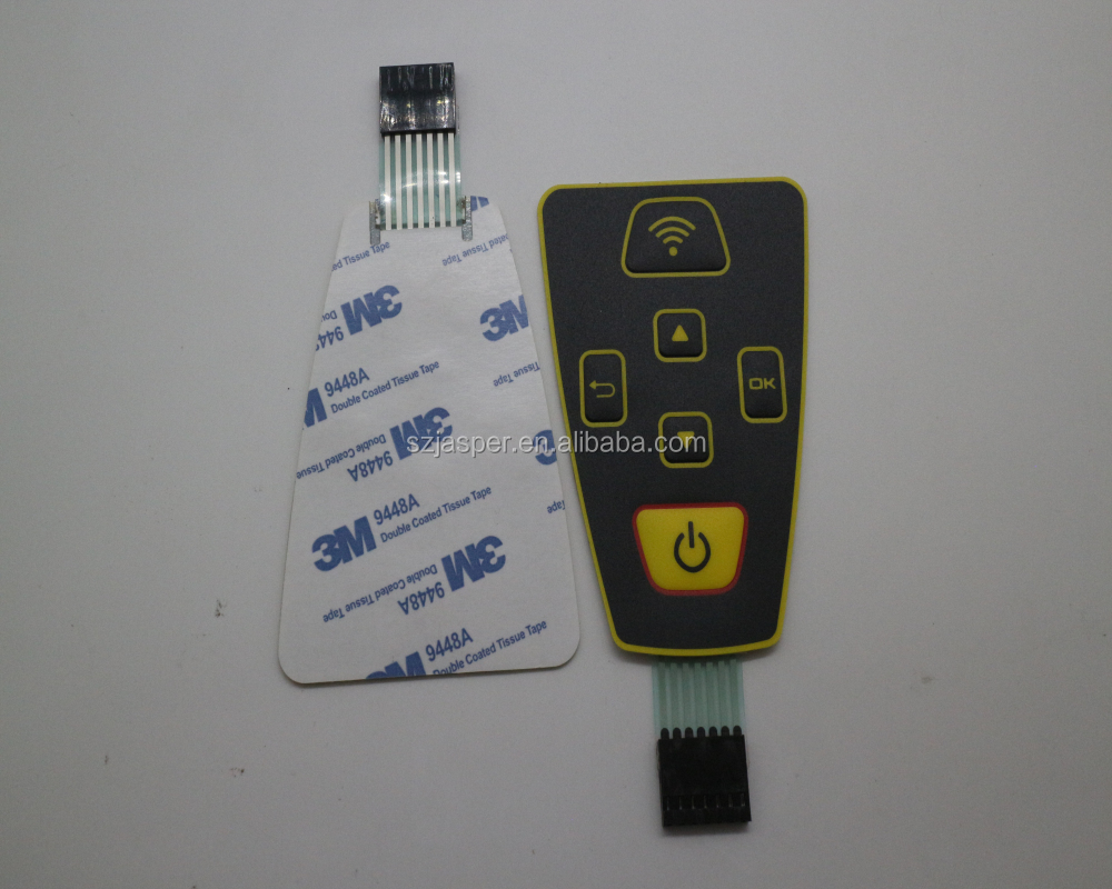 Metal Dome Membrane Switch Suppliers And Tactile Waterproof With Pcb Circuit Board Manufacturers At
