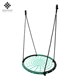 Dropship OEM/ODM iron design metal net swing set infant patio sets kids chair swing