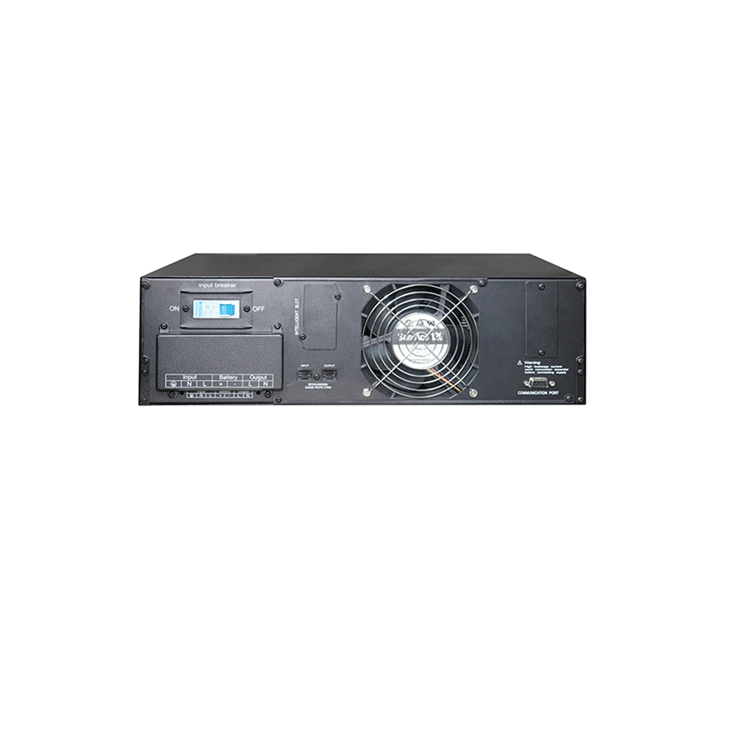 zx high frequency rack mount ups power supply 6kva with 2 hours backup