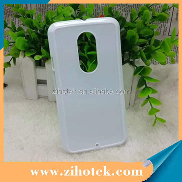 Customized sublimation plastic phone case with Aluminum Sheet for Motorola Moto X2