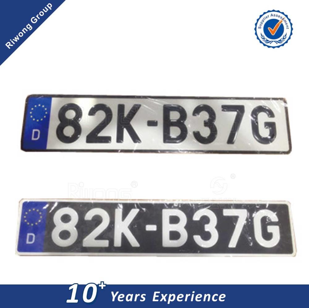 الاتحاد الأوروبي رمز لوحة ترخيص السيارة الألومنيوم رقم لوحة لوحة سيارة عاكسة Buy لوحة سيارة لوحة رقم السيارة لوحة رقم السيارة من الألومنيوم Product On Alibaba Com