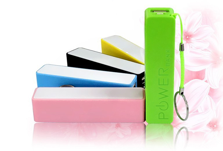 Cheap light portable mini power bank 2600 for Smartphone