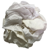 White T-shirt cotton cleaning rags used Clothing Rags with Best Price