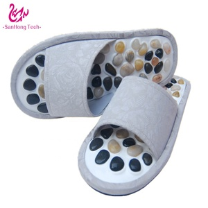 Health care acupuncture foot massage slipper