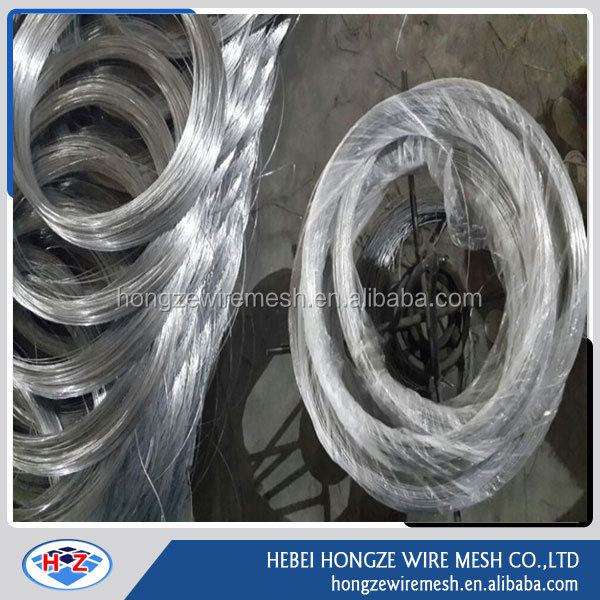 electro galvanized steel/iron wire/galvanized binding wire