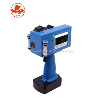 Ce Iso Zertifikat Portable Hand Tintenstrahldrucker Jet Mobile Stamp