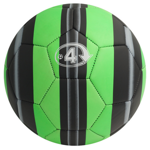 ActEarlier Top quality new arrival green soccer ball football size 4 with circle custom design
