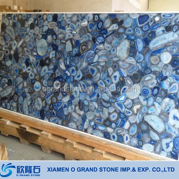 Wholesale Solid Surface Countertop Material Kitchen Agate Countertop