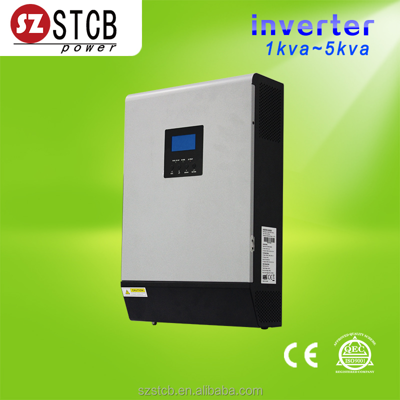 12v 220v solar inverter 1kva with 50A controller accept 600w solar panel