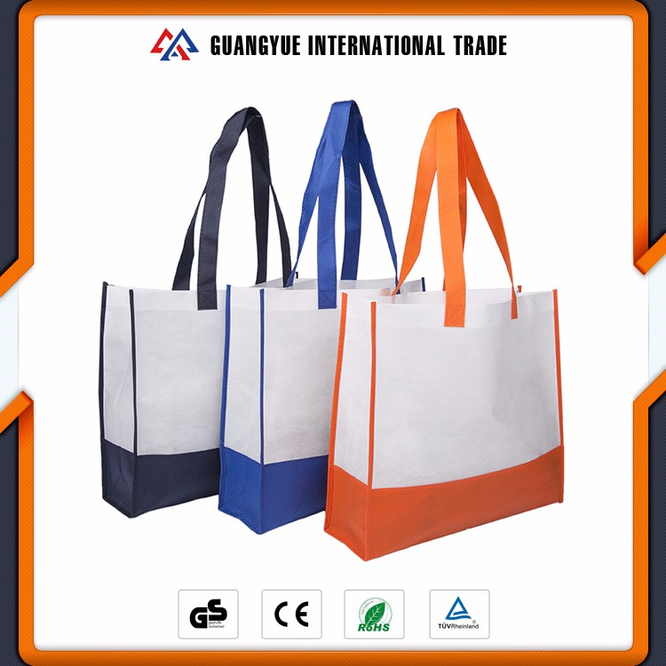 Guangyue Top Quality Promotion Cute Reusable Non Woven Shopping Bag