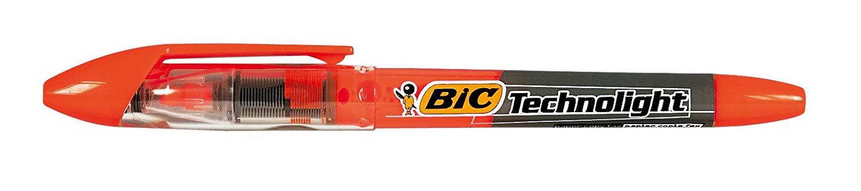 BIC Techno LightHighlighter Pens Chisel Tip 1.5/3.5mm, orange