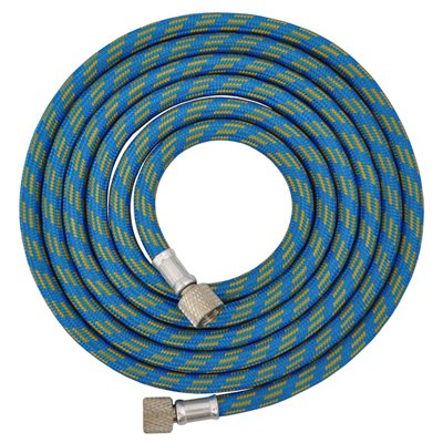 "Master Airbrush Premium 25 Foot Nylon Braided Airbrush Hose with Standard 1/8"" Size Fittings on Both Ends (Hose color may vary)"