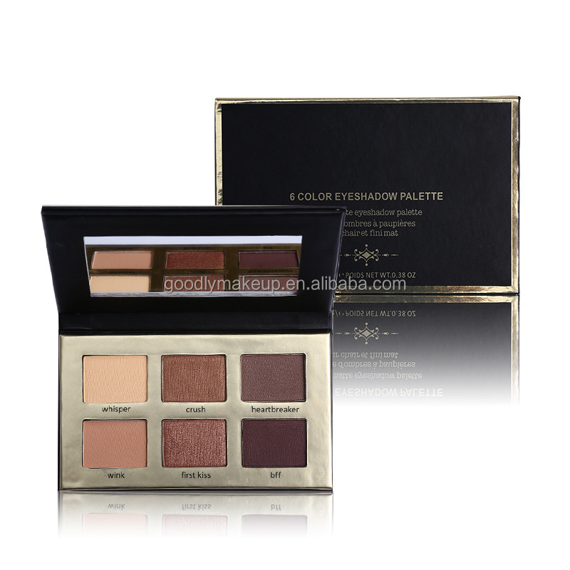 2017 New Item Private Label Cosmetics Private Label Eyeshadow Palette