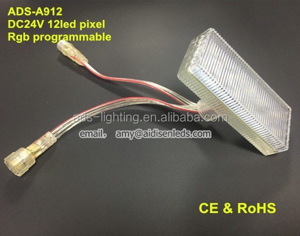 DC24V 90mm Digital RGB LED Module pixels for amsuement park
