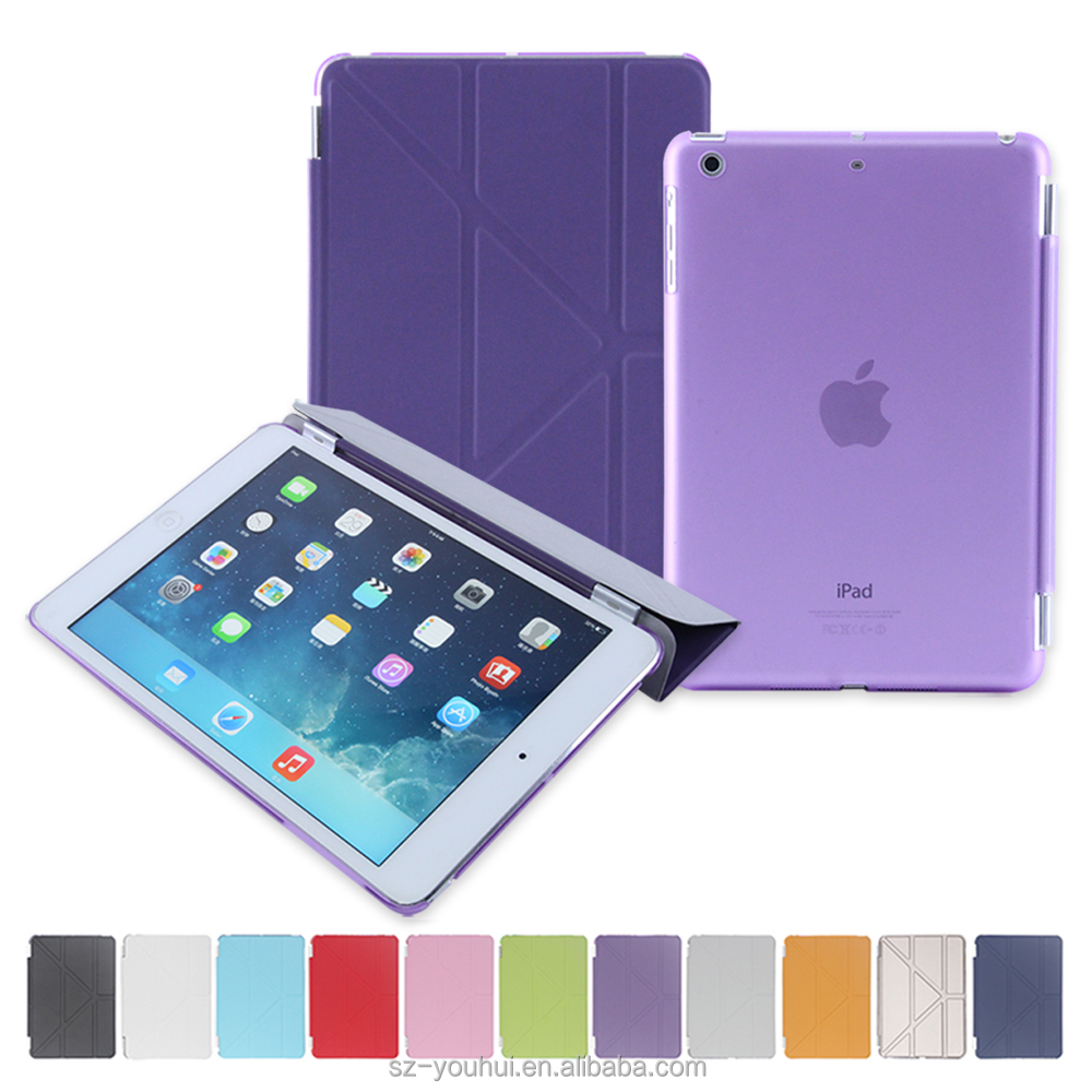 Factory Price Leather Case Smart Flip Cover for iPad mini