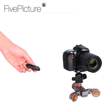 ElectricVideo Recording camcorder Pulley car Dolly Rolling Slider for DSLR Camera Smartphone