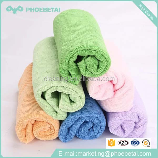 good quality stripe multifunction disposable bamboo microfiber towel