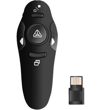 4d624a62e376 Wireless Presenter, 2.4GHz Bluetooth USB Presenter PowerPoint Pointer  Clicker Remote Control Laser Pointer
