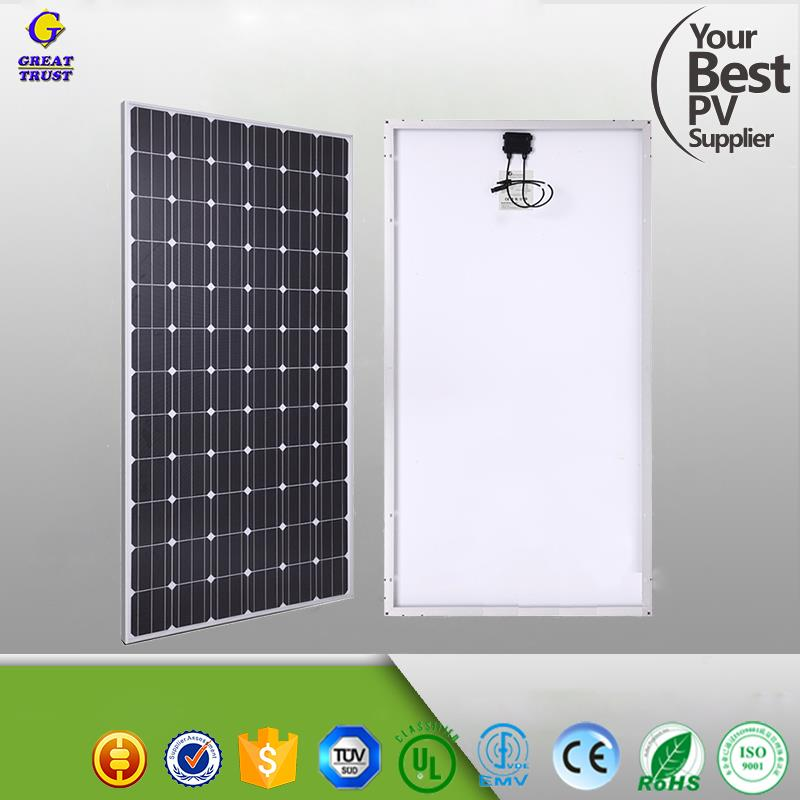 72W rollable amorphous silicon thin film flexible solar panel for RV boats marine
