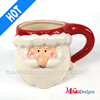 Custom Handmade Ceramic Cup with Electroplating for Christmas Gifts