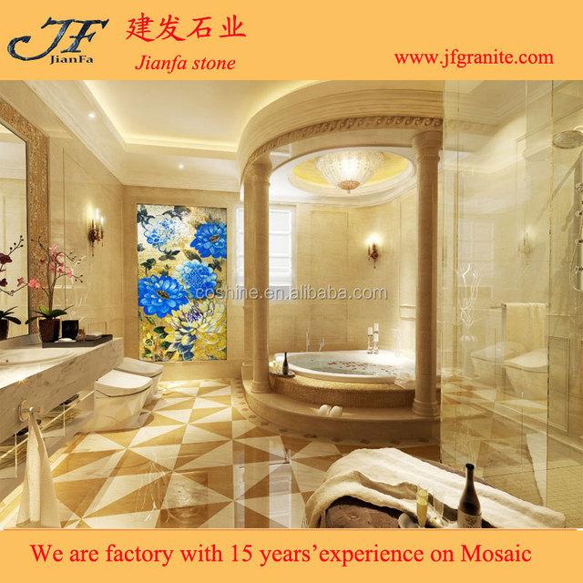 Contemporary Decorative Wall Glass Frieze - Wall Art Design ...