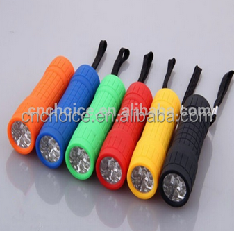 ningbo ninghai 9 led mini plastic torch games of desire