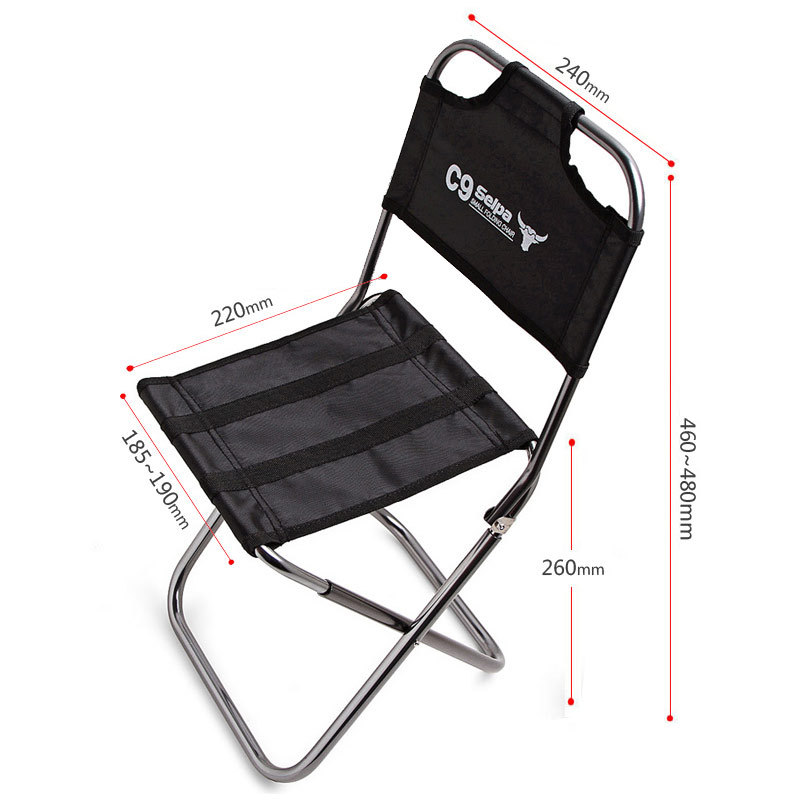 nouveau portable pliant l ger camping tabouret chaise si ge sac dos pour la p che pique nique. Black Bedroom Furniture Sets. Home Design Ideas