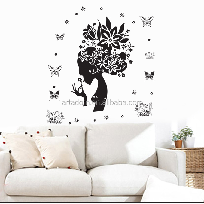 Removeable Wholesale Removable Quote Wall Sticker Vinyl Decals