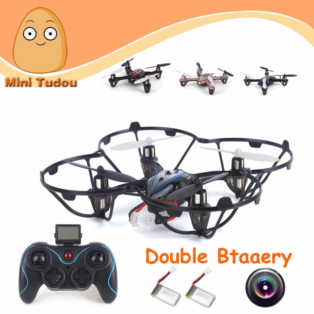 2.4G 6 Axis 3D Rotation RC Quadcopter Quad Copter Mini Drone Camera With Double