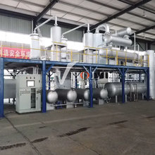<span class=keywords><strong>Emily</strong></span>-Plastic Olie Filter Recycling Power Zware Stookolie Plant met Desulfur Raffinage Systeem