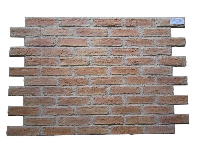Pu faux brick wall panel exterior foam brick wall panel for 3d brick wall covering