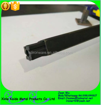 Metal Stair Parts   Plastic Inserts For Hollow Iron Spindles