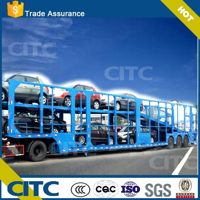 car carrier transport semi trailer CITC brand new happy price ship from china port