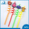 Cartoon Drinking Straw for Kids Wholesale Custom Cartoon Design Straw Printed Drinking Straws