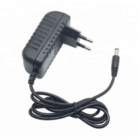 LED Driver Power Supply 12V 2A Transformer Wall Mount AC DC Power Adapter with Wall Plug DC 5.5*2.1mm
