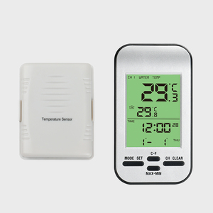 433mhz wireless thermometer with remote sensor