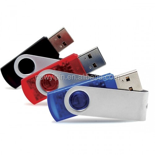 2GB 4GB 8GB 16GB 32GB 64GB 128GB Blue Swivel USB 2.0 Flash Drive Memory Thumb Stick Pen Storage U-Disk